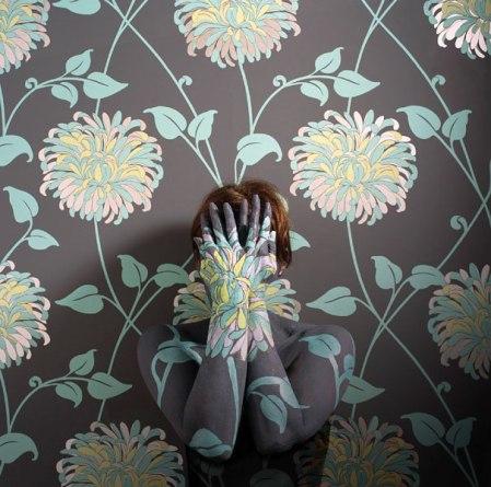 camouflage body art cecilia paredes