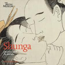 Shunga, Erotic Art in Japan, cover of catalog from British Museum show