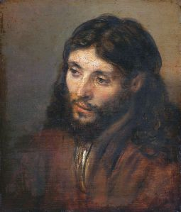 Rembrandt head of jesus 3