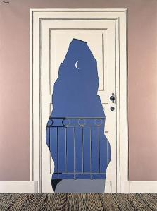 reproduction of René Magritte's L'acte de foie, 1960