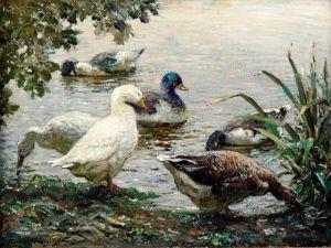 abbott-fuller-graves-the-duck-pond-flickr-photo-sharing-1384217683_b