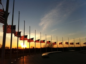 American-flags-at-half-staff