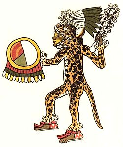 Aztec Jaguar Warrior Ready For Battle