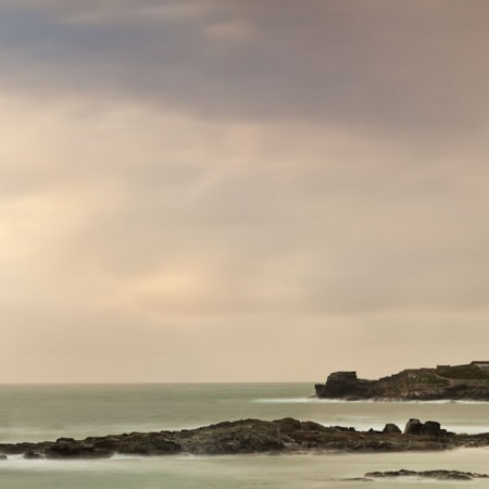 "Martin Bay, Godrevy Lighthousee, Cornwall, ""Images by Bay"" (Virginia Woolf)"