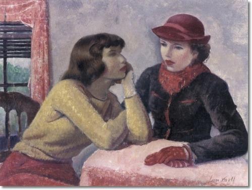 Leon Kroll (1884–1974) Study for Conversation, 1940