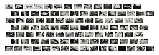 "Snip of an artnet compilation of images from Nobuyoshi Araki's ""101 Works for Robert Frank (Private Diary)"""