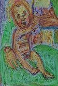 Jesus & Mary snip, by William Eaton, 2018-19 - 55