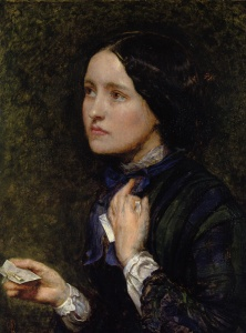 John Everett Millais, Portrait of Effie Gray (briefly the wife of John Ruskin), 1855