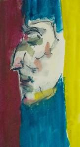 Mannerist portrait, with stripes, portrait by Wiliam Eaton, 2019