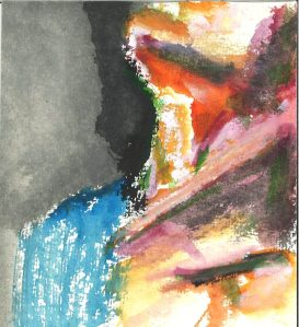 The Neck, watercolor by William Eaton, 2019