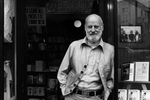 Lawrence Ferlinghetti At City Lights